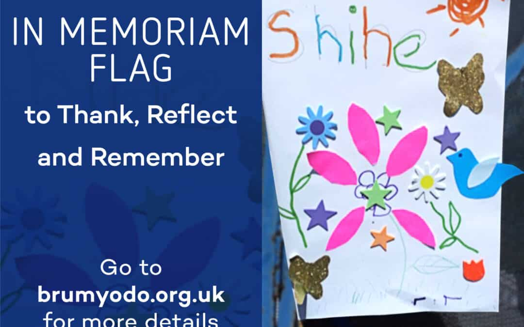 Children Fly the Flag for Art Project