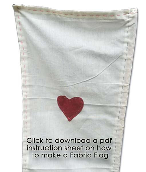 Click to download fabric flag instructions