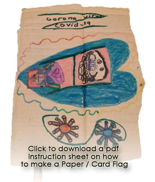 Click to download paper flag instructions